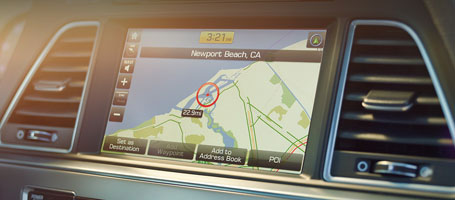 Touchscreen Navigation System