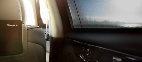Power Rear Side-window Sunshades